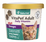 American Distribution & Mfg 03643 60CT Adult Cat Vitamin