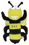 "Multipet International 27427 12""Buzz Off Bee Dog Toy"