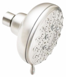 Moen/Faucets 23045SRN Showerhead, 5-Function, Spot-Resistant Brushed Nickel