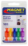 Master Magnetics 08013 Push Pin Magnets, 10-Ct.