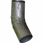"Construction Metals CERD2B-45 2"" Round 45DEG Elbow"