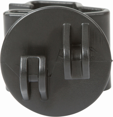 G73104 Electric Fence Insulator, T Post Claw, Black, 25-PK -