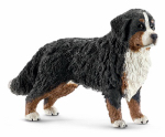 Schleich North America 16397 BLK/BRN Bernese Dog