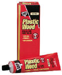 Dap 21500 Plastic Wood Cellulose Fibre Wood Filler, Natural, 1.875-oz. Tube
