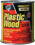 Dap 21506 Plastic Wood Wood Filler, Natural Color Cellulose Fibre, 16-oz.