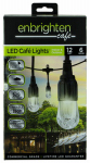 Jasco Products 31660999 LED Caf  Lights, 6-Bulb, 12-In.