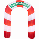 Gemmy Industries 36681 Airblown Christmas Archway, 90-In.