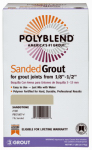Custom Bldg Products PBG527-4 7LB #52 BRN Sand Grout