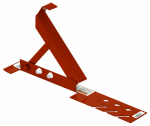 Qual-Craft Industries 2500 Roof Bracket, Adjustable, Steel