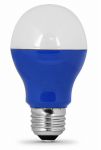Feit Electric A19/B/10KLED LED Light Bulb, Blue, 3-Watt