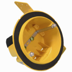 Racoorporated 2027-FBAR 4-Inch Round Vapor Barrier Ceiling Box