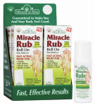 Miracle Of Aloe 41950 3OZ Miracle Rubbed Roll On