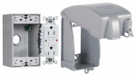 Racoorporated MKG4280SS Receptacle Kit, Vertical, GFCI