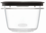 Rubbermaid 1951293 Premier Stain Shield Food Storage Container, 2-Cup