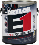United Gilsonite Lab 23713 Epoxy Floor Paint, Gray, Gallon
