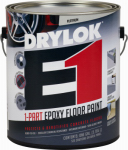 United Gilsonite Lab 23813 Epoxy Floor Paint, Platinum Semi-Gloss, Gallon