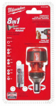 Milwaukee Electric or Electrical Tool 48-22-2320 Compact Ratchet Multi Bit Driver, 8-In-1