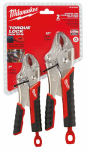 Milwaukee Electric or Electrical Tool 48-22-3402 Locking Pliers Set, 2-Pc.