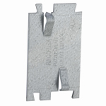 Racoorporated 2712R Cable Protector Plate, 2.75 x 1.5-In.