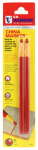 Hanson C H 10261 China Marker Pencil, Red, 2-Pk.