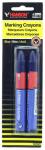 Hanson C H 10352 Lumber Crayon, Blue, 2-Pk.