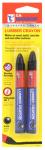 Hanson C H 10353 Lumber Crayon, Black, 2-Pk.