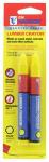 Hanson C H 10386 Lumber Crayon, Yellow, 2-Pk.