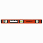 Johnson Level & Tool 1233-2400 I-Beam Level, Heavy-Duty Aluminum, 24-In.