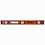 Johnson Level & Tool 1233-2400 I-Beam Level, Heavy-Duty Aluminum, 24-In.