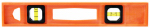Johnson Level & Tool 7714-O Structo Cast Level, Orange, 14-In.