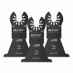 Imperial Blades IBOA250-3 Oscillating Tool Blade, Fast Wood HCS, 2.5-In., 3-Pk.