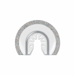 Imperial Blades IBOA610-1 Oscillating Tool Blade, Segmented Carbide, 2.5-In.