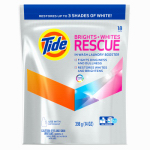 Procter & Gamble 962342 Laundry Booster Pods, Brights+Whites Rescue, 18-Ct.