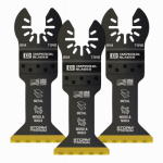 Imperial Blades IBOAT340-3 Oscillating Tool Blade, Wood With Nails, Bi-Metal, 1.75-In., 3-Pk.