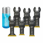 Imperial Blades IBOATV-6 Oscillating Tool Blade Variety Pack, 6-Pk.