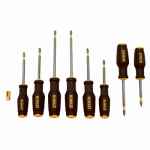 Stanley Consumer Tools DWHT62058 Max Fit Screwdriver Set, 8-Pc.