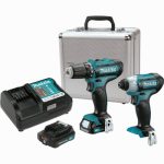 Makita Usa CT226RX 12V max CXT™ Lithium-Ion Cordless 2-Pc. Combo Kit or Kitchen (2.0Ah)