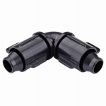 Raindrip S5700UB Drip Watering Hose Elbow, 1/2 to .710-In.