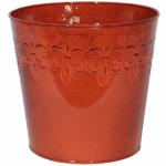 """Robert Allen MPT01638 8"""" RED Fleur De Planter"""