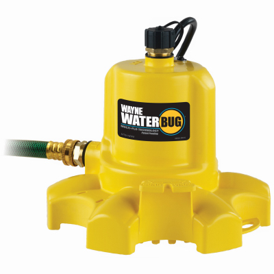 Wayne Water Systems WWB Waterbug Portable Utility Pump, 1/6
