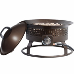 Bond Mfg 67380-D Portable Gas Fire Bowl, 54,000-BTU
