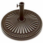 Bond Mfg 69569 Veranda Umbrella Base, Antique Bronze