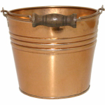 "Robert Allen MPT01623 6"" Copper Banded Planter"