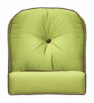 Chicago Wicker & Trading 3332-01-145-1262-0000-3 Wilmington Chair/Swivel Glider Cushion