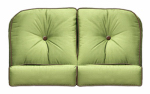 Chicago Wicker & Trading 3332-02-145-1262-0000-3 Wilmington Loveseat Cushions, 4-Pc.