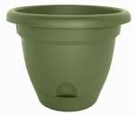Bloem LP1642 Planter, Self-Watering, Green, 16-In.