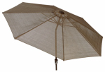 Letright Industrial 820.058.007 Catalina Sling Umbrella, Brown, 9-Ft.