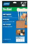 Norton Abrasives/St Gobain 07660747980 5-Pack 9 x 11-Inch 150-Grit Garnet Wood Sanding Sheets