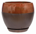 "Att Southern CRM-031116 6"" Copper Kend Egg Planter"