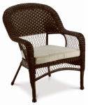 Creative Courtyards Int 16S1041K-V Sunset Cove Wicker Chair
